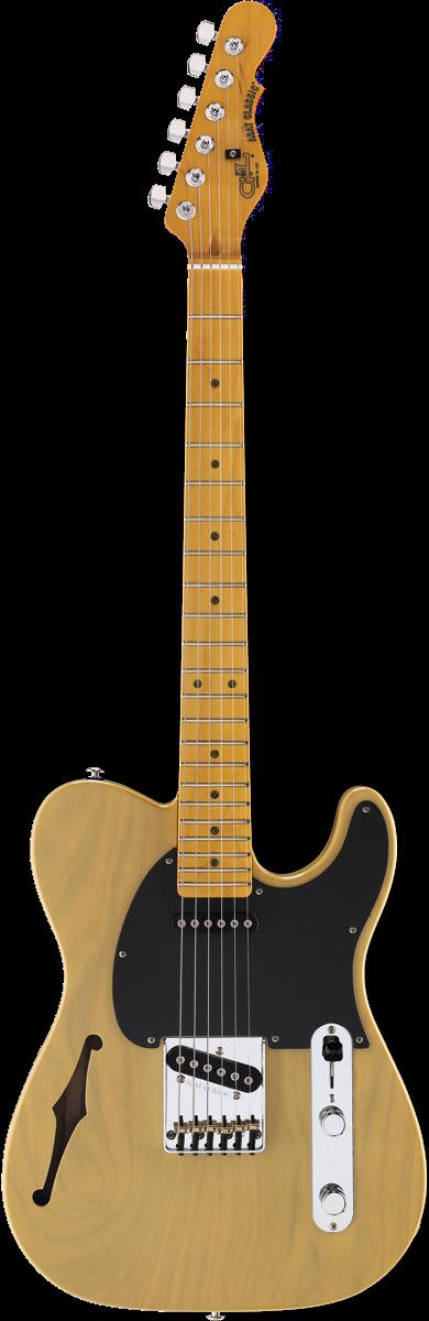 ASAT Classic Semi-Hollow shown in Butterscotch Blonde