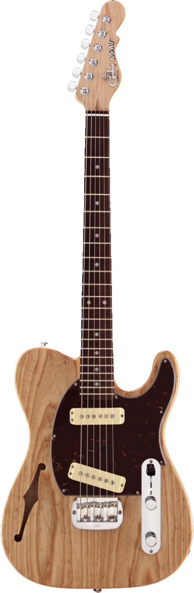 ASAT Special Semi-Hollow shown in Natural Gloss