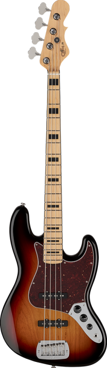 JB shown in 3 Tone Sunburst